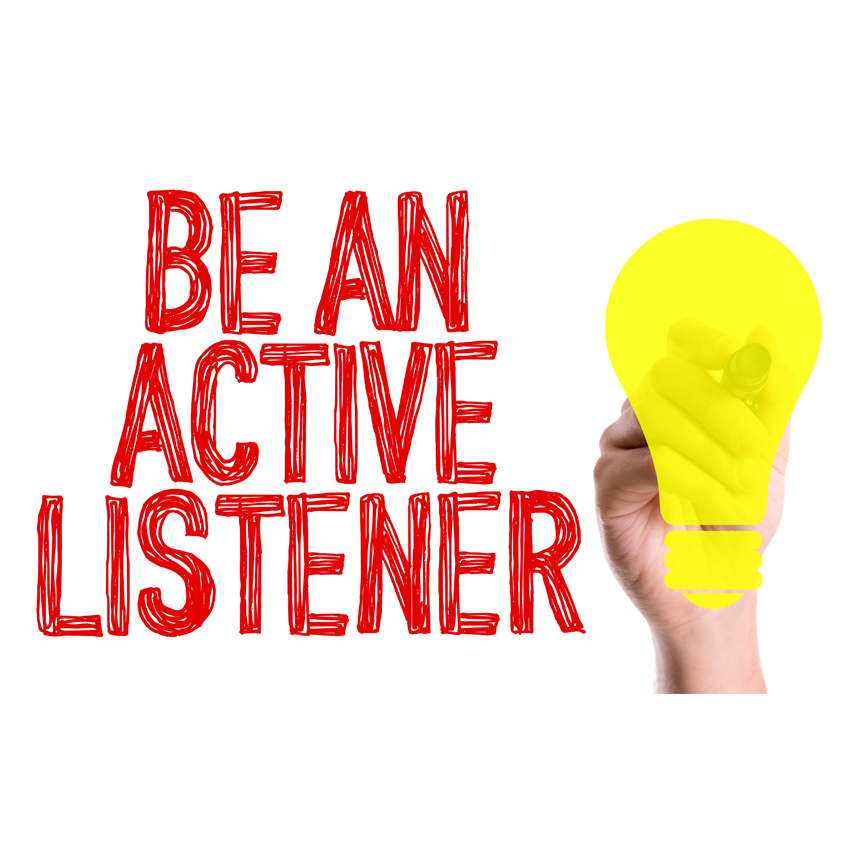 what are the key components of active listening