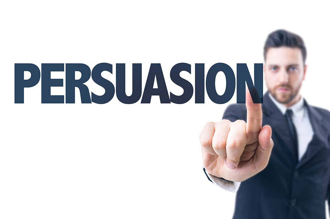The art of persuasion and influence